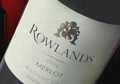 Rowlands Merlot